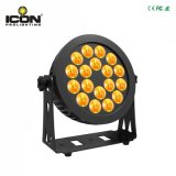 Indicatore luminoso UV esterno di PARITÀ di 18X15W RGBWA 6in1 LED per la fase