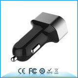 caricatore Port dell'automobile del caricatore 6.8A dell'automobile 3USB con l'anello di alluminio