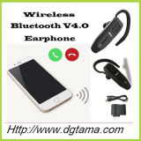 Cuffia avricolare del trasduttore auricolare di Bluetooth con il cavo dell'adattatore del caricatore e del caricatore del USB