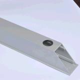 Profil d'extrusion d'aluminium 6063 avec traitement en profondeur CNC