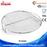 Решетка чугуна типов таможни круглая скрежещет нержавеющую сталь