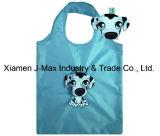 Saco de compras dobrável com bolsa em 3D, o estilo de ovinos Animal, reutilizável, sacos de supermercado e prático, dons