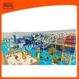 Klettern mit Rollen-Plättchen-Kugel-Vertiefung der Innenspielplatz-Plastikspielwaren für Kinder