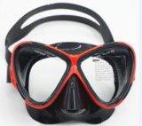 Piscina de adultos de la máscara de silicona de buceo