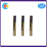 Pase dos M6 de acero al carbono Pilar hexagonales Fasteners Stud/tornillos