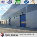 Almacén prefabricado del diseño de acero ligero de varios pisos de la construcción