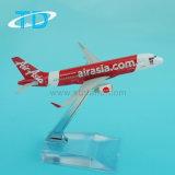 Lucht Azië A320neo 1/300 de 12cm Kleine ModelVliegtuigen van het Metaal