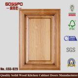 Puerta de cabina simple de cocina de madera sólida (GSP5-029)
