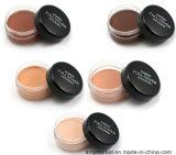 Mode crème nue Concealer couvrant les rides et le cercle foncé Concealer cosmétiques 5 couleurs