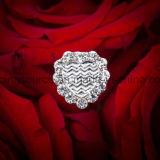 [رهينستون] زفافيّ باقة زهرة مجوهرات [بين]