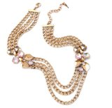 De Juwelen van elegante Vrouwen, de Halsband van Vrouwen, de juwelen van de Manier