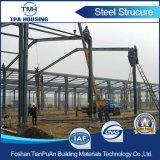 Carcaça pré-fabricada de construção da construção de aço