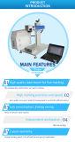 Máquina de impressão de marcação de fibra óptica em alumínio, aço sem caule, garrafa, vidro