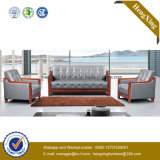 Sofá moderno do escritório do sofá do couro genuíno de mobília de escritório (HX-CF025)