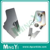 عادة صلبة خاصّة شكل ثبت معدن يحدّد قالب مع فتحة بئر
