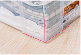 Il caso di plastica trasparente superiore di memoria della famiglia della casella di memoria 20L per alimento copre i giocattoli