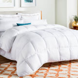 Universe Season reversible one down alternative Quilted Comforter - Corner Duvet of Tabs - Hypoallergenic - Plush Microfiber Fill - box Stitched - Machine Washable