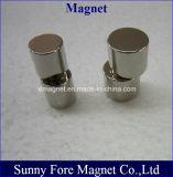 Aimant magnétique axial de cylindre