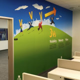 Mural decorativo natural de la pared, mural impermeable de la pared