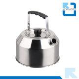 caldaia non elettrica esterna dell'acqua della caldaia di tè dell'articolo da cucina dell'acciaio inossidabile 1L 201