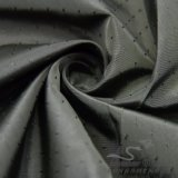 água de 50d 260t & do Sportswear tela 100% tecida do filamento do poliéster do jacquard da estrela de tiro para baixo revestimento ao ar livre Vento-Resistente (53244)