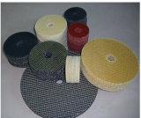 Disco de la solapa del forro de la fibra de vidrio de la alta calidad, disco flexible de la solapa