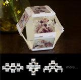 """Leggyhorse4"""" X 4"""" гибкий прозрачным акриловым рамка для фотографий, съемная кадры с легкостью изменить форму, белого или черного цвета, 10рамы"""