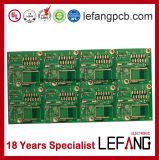 Placa de circuito impresso de uma comunicação de Asic
