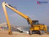 grand long boum d'extension de l'excavatrice CAT6018 de 32m