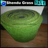 Níveis dobro que suportam a grama do Synthetic de 25mm para o jardim