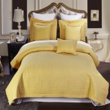 Microfibra Checkered Bed Spread da China Factory (DPF10796)