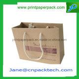 Настраиваемые офсетной печати матовая ламинирование крафт-бумаги Bag сумки магазинов одежды моды сумки