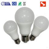 E27 7W lámpara de ahorro de energía LED bombilla