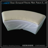 Plástico recargable LED asiento de barra de muebles