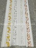 Moulage de corniche de plafond de polyuréthane de couleur