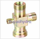 Raccords de tube de type hameçon Fin de l'écrou tournant (DIN2353)