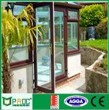 Deur de van uitstekende kwaliteit van de Gordijnstof van het Glas van het Aluminium met As2047