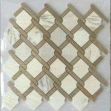 Mosaico de piedra con el jet de Wate