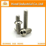 Vis de plot Hex de tête de bouton de l'acier inoxydable ISO7380