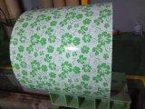 La lamiera sottile del tetto di Yehui 0.12mm-3.0mm Sgch Dx51d PPGI ha galvanizzato la bobina d'acciaio