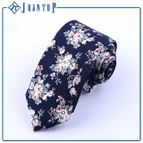 Gravata elevada barata do homem do estoque do algodão da qualidade de Printting da flor