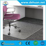 Chaire en PVC rectangulaire Mat pour bureau et domicile de la moquette