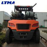Ventes neuves de levage de chariot élévateur de LPG de 6 tonnes de machine de fourche