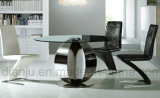 현대 PU 가죽 스테인리스 여가 의자 (B882)