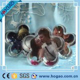 Fabriqué en acrylique Photo Snow Globe Forme Forme Water Ball
