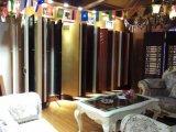 De color blanco de madera maciza puerta de la sala interior compuesto de Oriente Medio (DS-024)