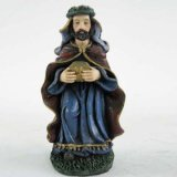 Statue religiose di stile dell'intera famiglia della statua della resina nuove