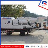 Bomba diesel y eléctrica del mezclador del tratamiento por lotes con el generador de 100kw Commins
