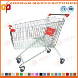 Metal Supermarket Shopping Trolley Store Hand Cart (Zht120)