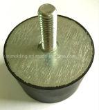 De buffer/het Rubber met de Buffer /Isolation van het Staal zetten op